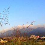 吉田太陽の丘公園から足立山