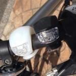 自転車シリコンLEDライト